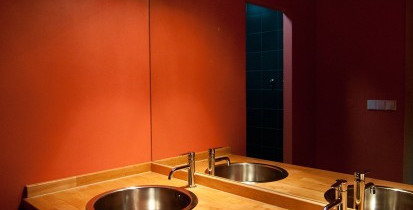 Design holiday Houses Rajsko for rent Sumava Czech Republic - bathroom