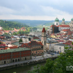 Amazing town of Passau in Germany