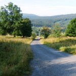 One of the nice cycling path in Sumava mountains, place called Stodulky. It is about 30 minutes from our houses by bike.
