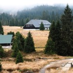 This is a typical Sumava mountains small village. There are nice mountains meadows, lots of hiking trails.